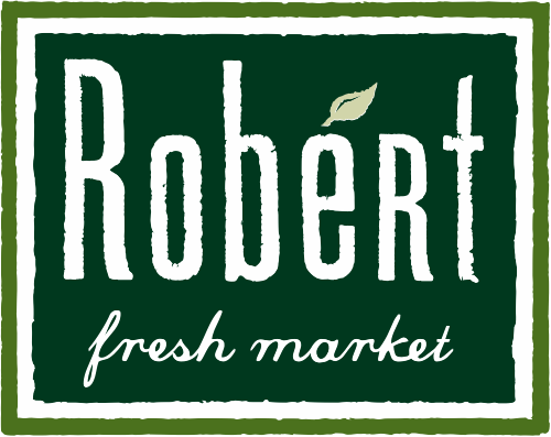 A theme logo of Robért Fresh Market
