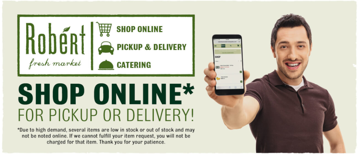 Shop Online for Pickup or Delivery!