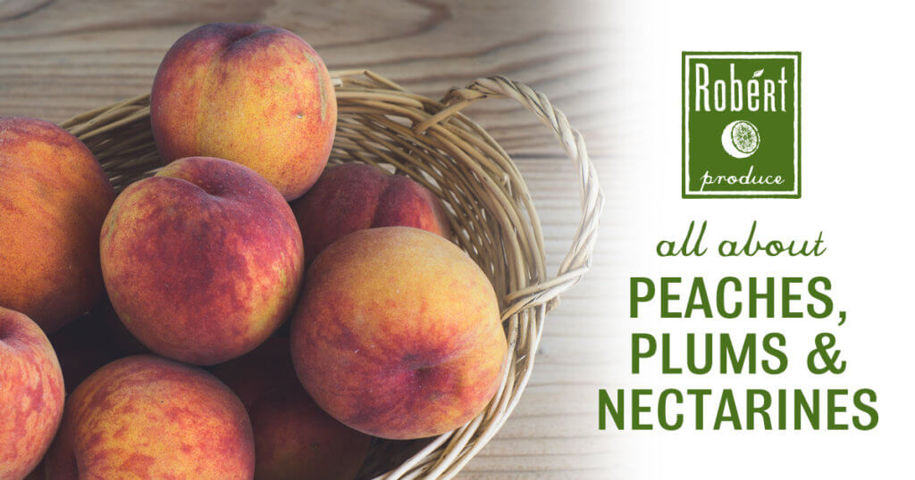Peaches, Plums & Nectarines at Robért Fresh Market