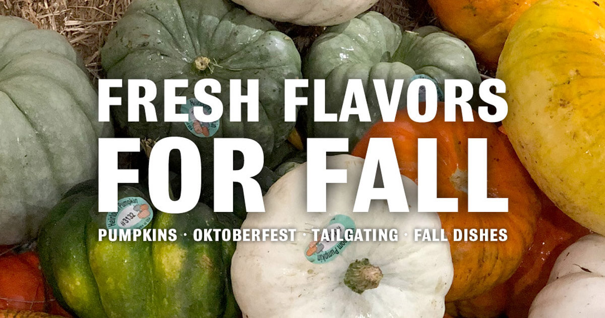 Fresh Flavors for Fall