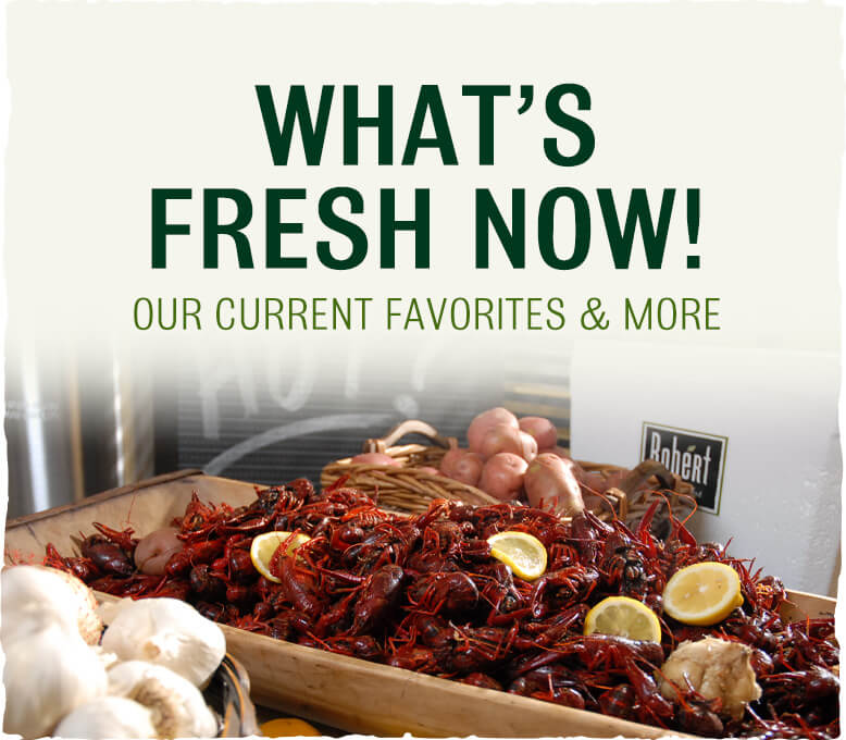 What's Fresh Now - Crawfish